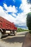Grande trasporto del camion Fotografie Stock
