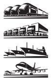 Grande trasporto del carico Fotografie Stock