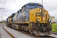Grande treno che arriva 18 aprile 2016 a New Orleans - NEW ORLEANS, LUISIANA - Fotografia Stock