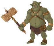 Grande troll Fotografia Stock Libera da Diritti