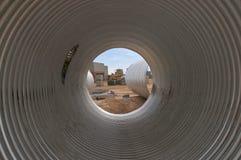 Grande tubo. Fotografia Stock
