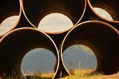 grande tubo sulla cima Fotografie Stock Libere da Diritti