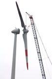 Grande turbina de vento fotografia de stock royalty free