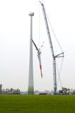 Grande turbina di vento fotografia stock