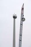 Grande turbine de vent Image libre de droits