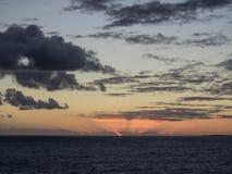 Grande Turk Island Sunrise Fotografie Stock