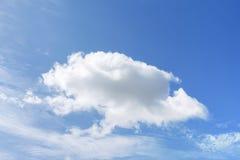 Grande una nuvola Fotografia Stock Libera da Diritti