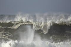 Grande vague de rupture Photographie stock