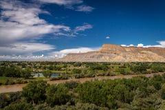Grande valle fotografie stock libere da diritti