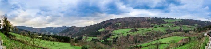 Grande valle Fotografie Stock