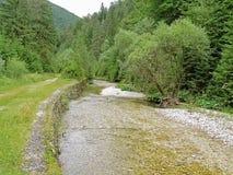 Grande valle del falco nel paradiso slovacco Immagine Stock
