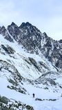 In grande valle fredda, alto Tatras, Slovacchia Fotografia Stock