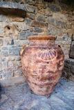 Grande vaso dell'argilla Fotografie Stock Libere da Diritti