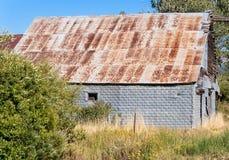 Grande vecchio granaio stagionato Fotografia Stock