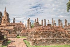 Grande vecchio tempio e bello fondo Fotografia Stock
