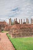 Grande vecchio tempio e bello fondo Immagine Stock