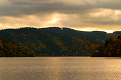 Grande veja no Thuringia Fotos de Stock Royalty Free