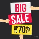 Grande vendita Fotografie Stock