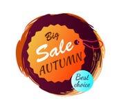 Grande vendita Autumn Best Choice Vector Illustration Immagine Stock