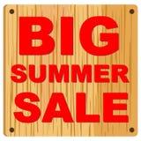 Grande vendita di estate Fotografie Stock Libere da Diritti
