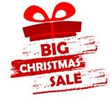 Grande vendita di Natale Immagini Stock