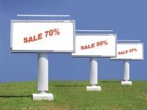 Grande vendita di spazio di estate Fotografie Stock