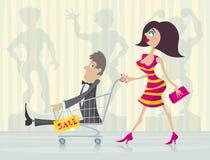 Grande vente illustration libre de droits