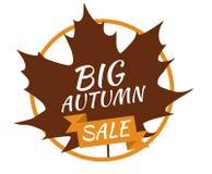 Grande vente d'automne Images libres de droits