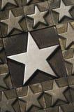 Grande verticale d'étoile Photos libres de droits