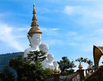 Grande vetro di mosaico di Buddha Fotografia Stock