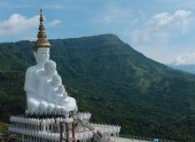 Grande vetro di mosaico di Buddha Immagine Stock Libera da Diritti