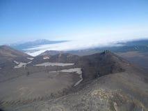 Grande viagem a Kamchatka Lugares misteriosos Fotos de Stock Royalty Free