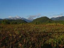Grande viagem a Kamchatka Lugares misteriosos Fotografia de Stock