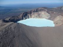 Grande viaggio a Kamchatka Posti misteriosi Immagine Stock Libera da Diritti
