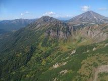 Grande viaggio a Kamchatka Posti misteriosi Immagini Stock Libere da Diritti