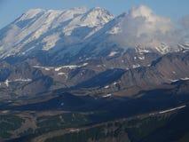 Grande viaggio a Kamchatka Posti misteriosi Fotografie Stock