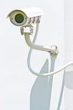 Grande videocamera di sicurezza Fotografie Stock