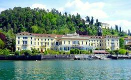 Grande villa Serbelloni dell'hotel Immagine Stock Libera da Diritti