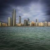 Grande ville Photos libres de droits