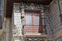 Grande ville historique de Grenade de l'Espagne-Andalousie, vieille ville Photo stock