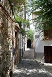 Grande ville historique de Grenade de l'Espagne-Andalousie, vieille ville Photos libres de droits