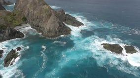 Grande vista aerea di Wave archivi video