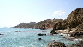 Grande vista delle rocce Fotografia Stock