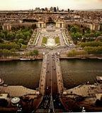Grande vista di Parigi Immagine Stock Libera da Diritti