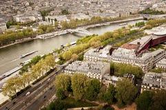 Grande vista di Parigi orientale Immagini Stock