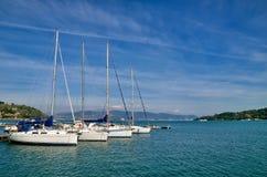 Grande vista di Portovenere, Italia Fotografia Stock