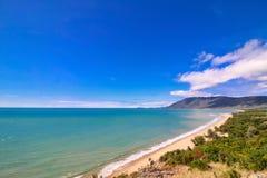Grande vista em Rex Lookout In Wangetti, Qeensland, Autralia fotografia de stock royalty free