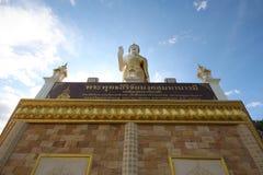 Grande vista frontale di Buddha Fotografie Stock