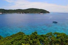 Grande vista sul mare Fotografie Stock