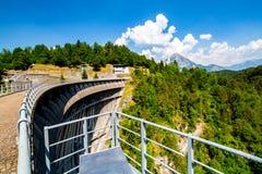 Grande vista sulla grande diga Immagini Stock